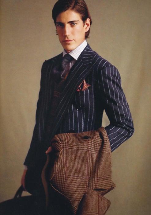 ralph-lauren-pin-stripe-suit-glen-plaid-topcoat