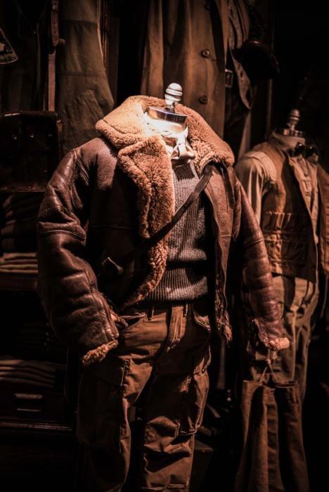 RRL flight jacket