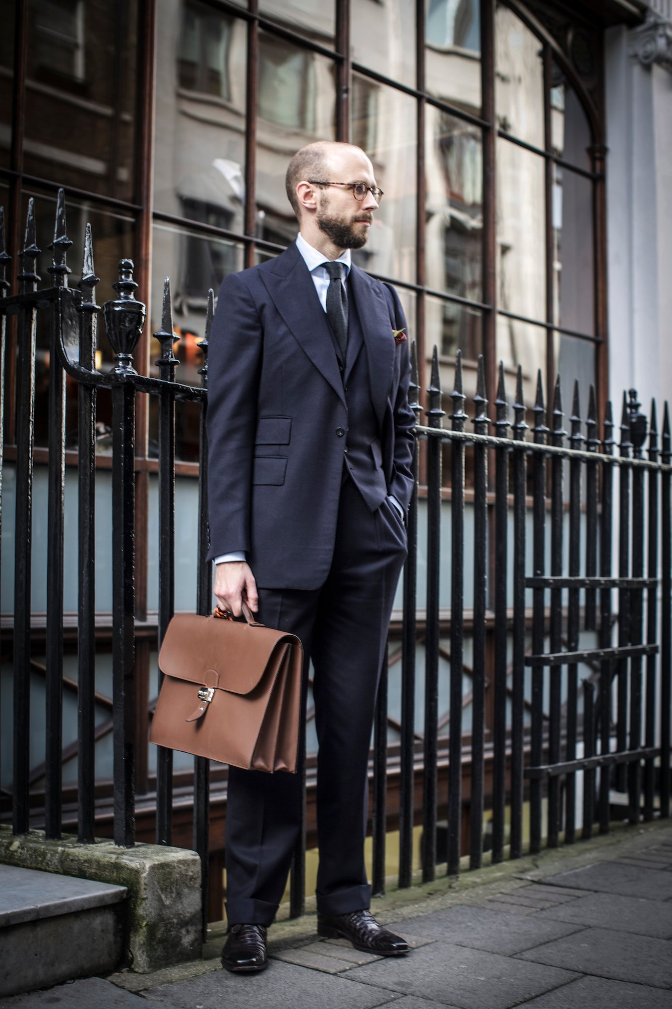 Chittleborough & Morgan suit – at A&S