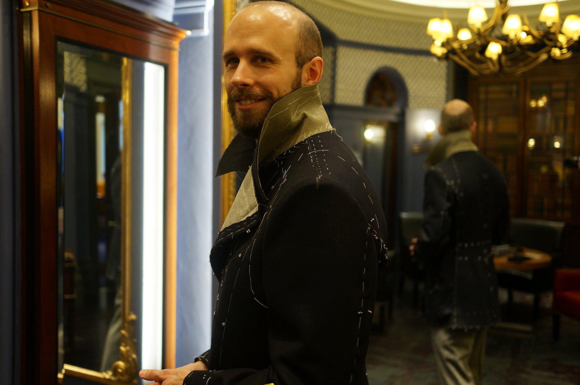 The bespoke pea coat   Part 2 - Permanent Style
