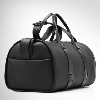 Troubadour leather bag