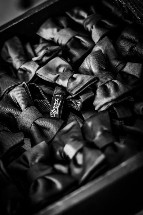 Charvet bow ties