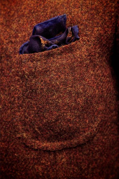 Neapolitan breast pocket