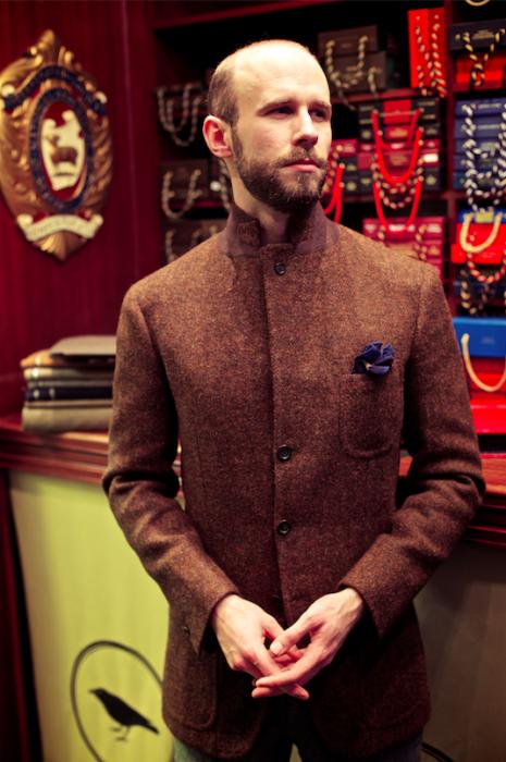 crompton caliendo bespoke jacket