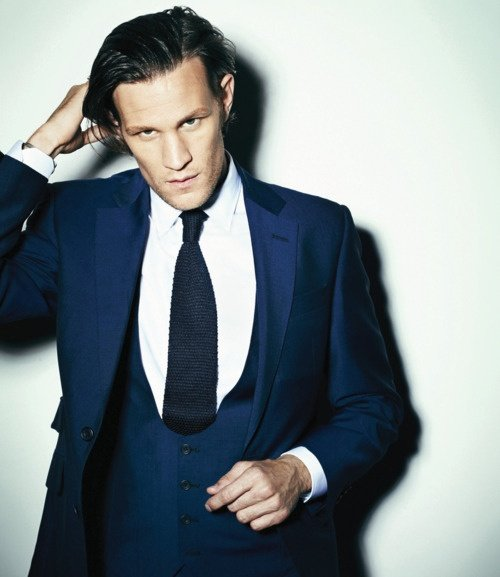 navy suit matt smith