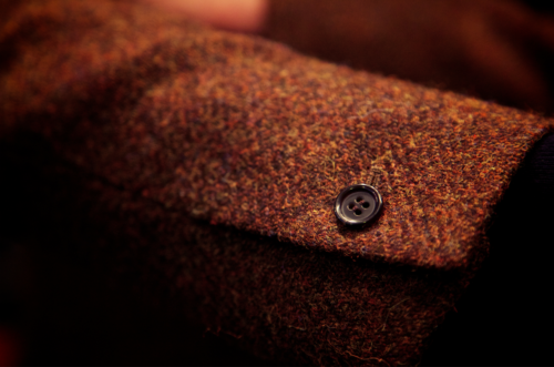 tweed sleeve jacket