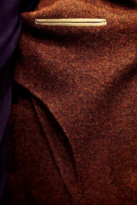 unlined tweed jacket