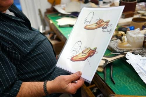 Berluti bespoke shoes5 design