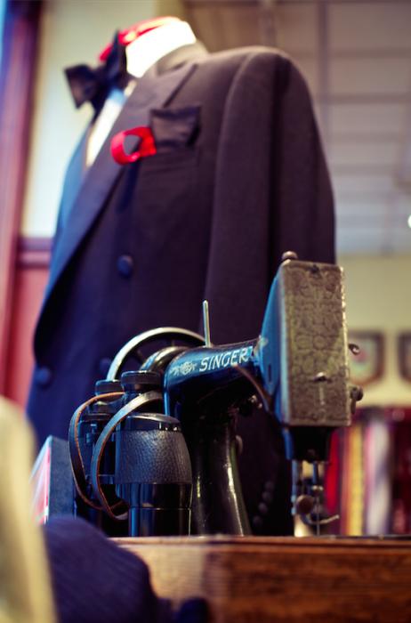 PA Crowe bespoke tailor