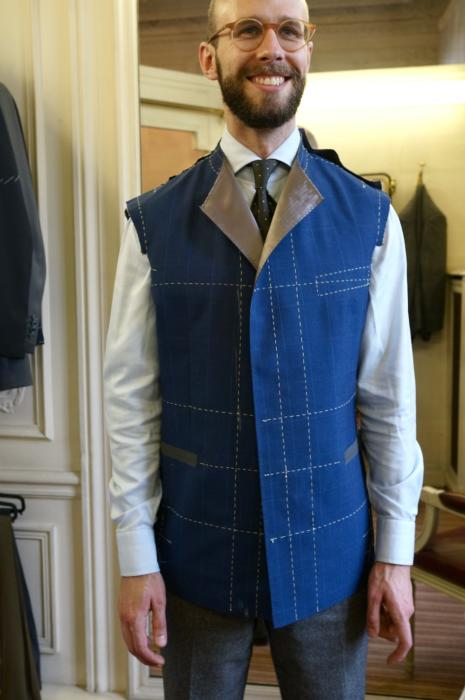 camps de luca bespoke suit fitting