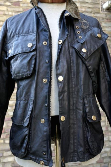 Barbour vintage motorcycle jacket how to wear 1950s