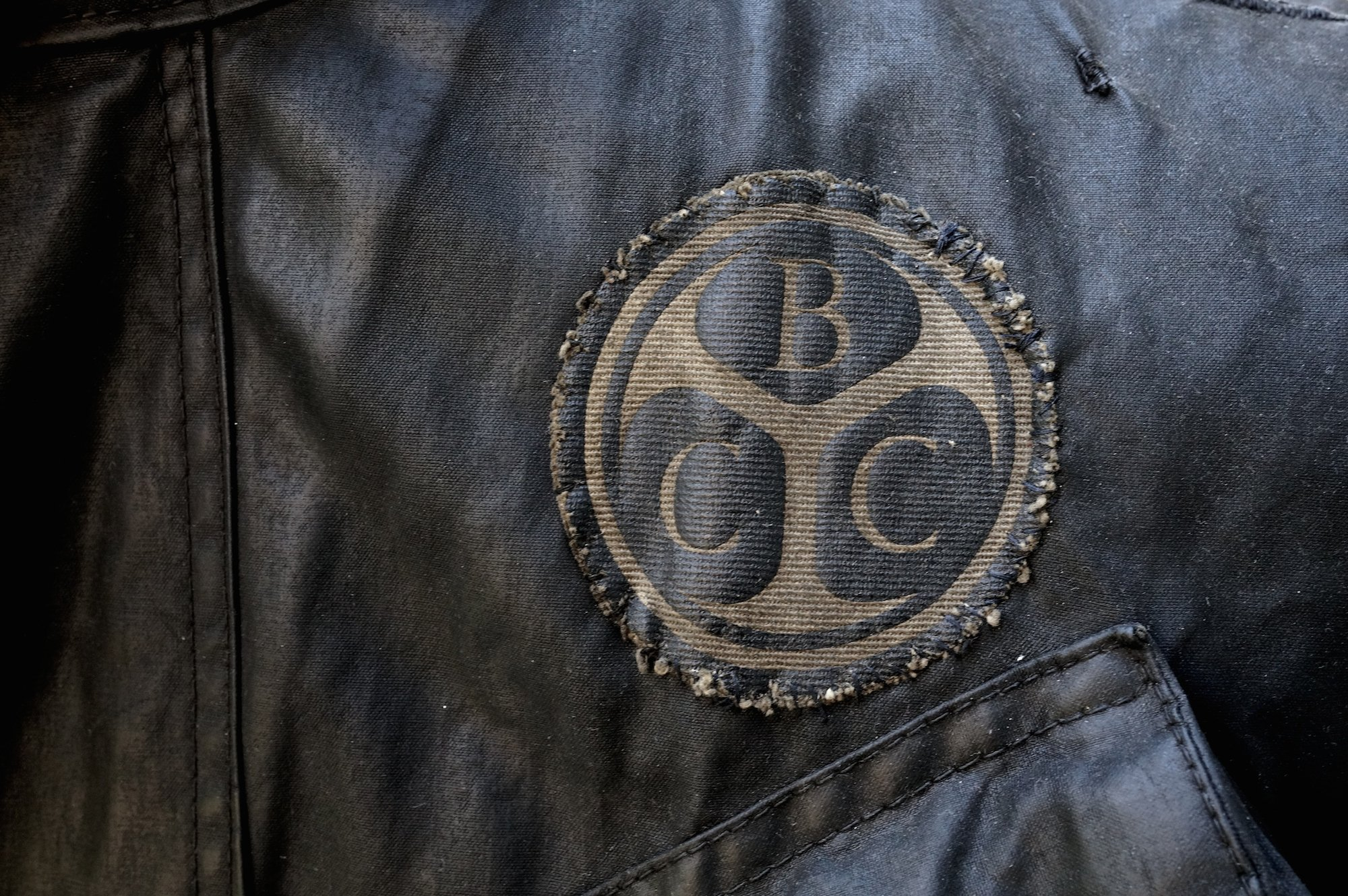 How great things age: Barbour motorcycle jacket