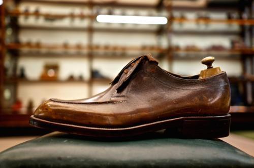 Foster's bespoke shoe