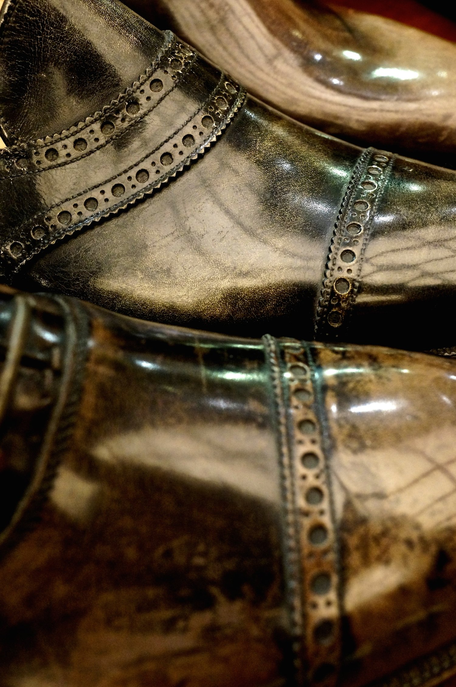 Foster & Son bespoke shoe samples