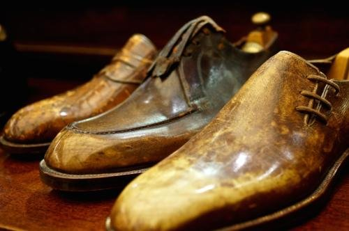 Foster's bespoke shoes vintage