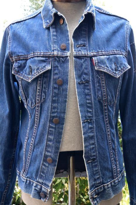 Levi's vintage big E jacket style