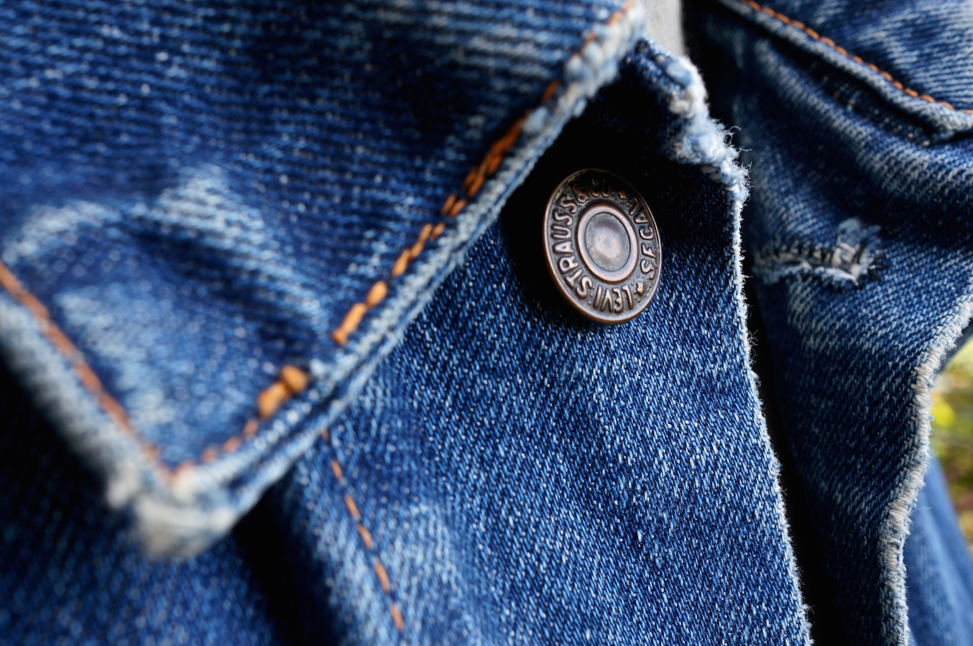 How great things age: Levi\'s \'big E\' denim jacket – Permanent Style