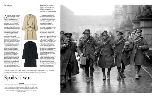Men's jackets sport and war