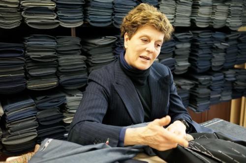 F Caraceni tailor Milan