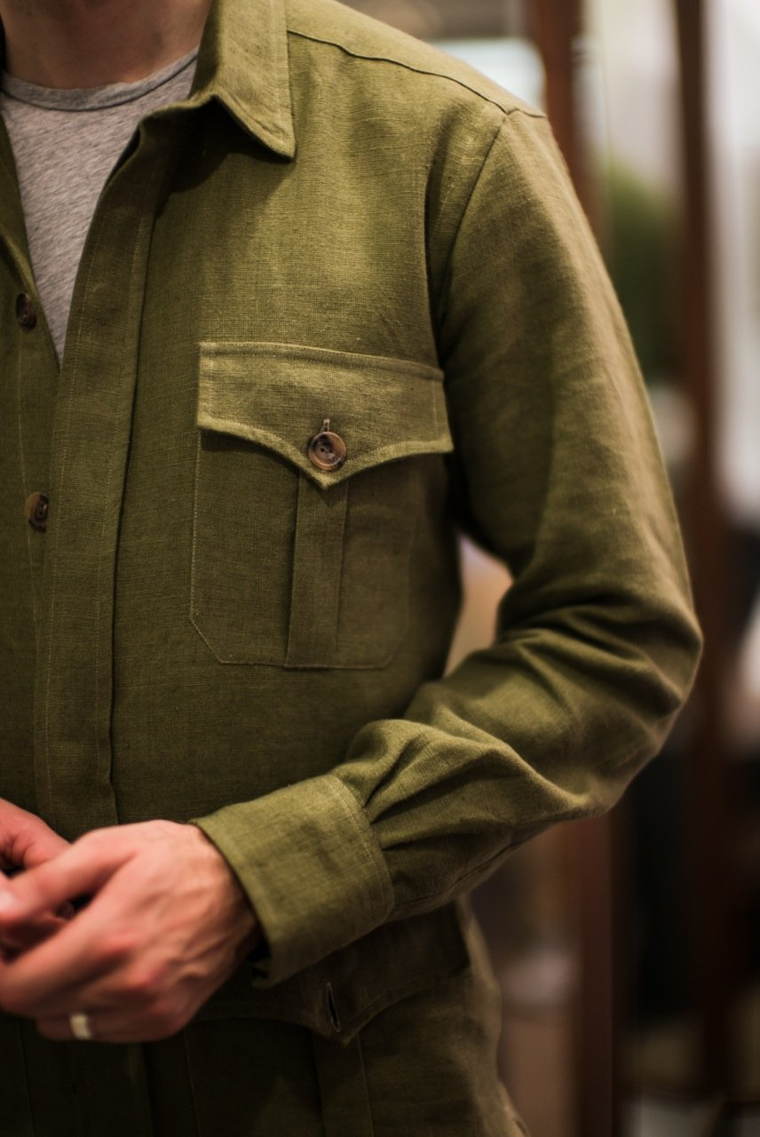 Budd bespoke safari jacket