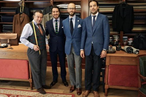 Calvo de Mora tailor bespoke spain madrid