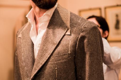 Caraceni bespoke jacket