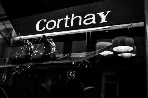Corthay shoe skateboard