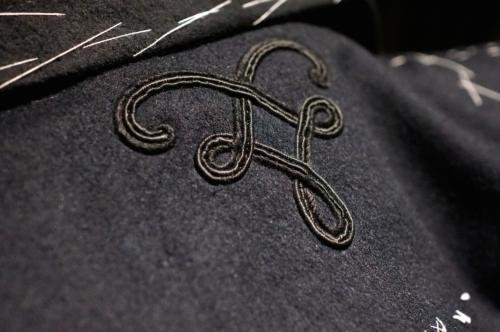 Gieves Hawkes pea coat embroidery hawthorne and heaney2