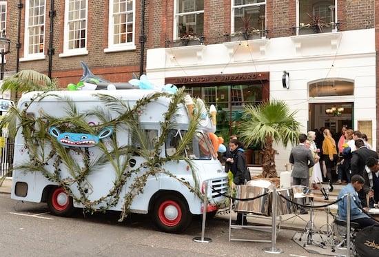 Savile Row, parties and branding