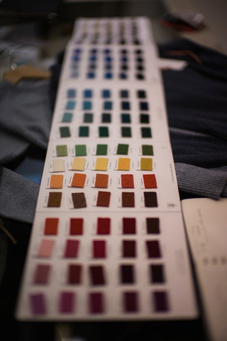 Johnstons swatches