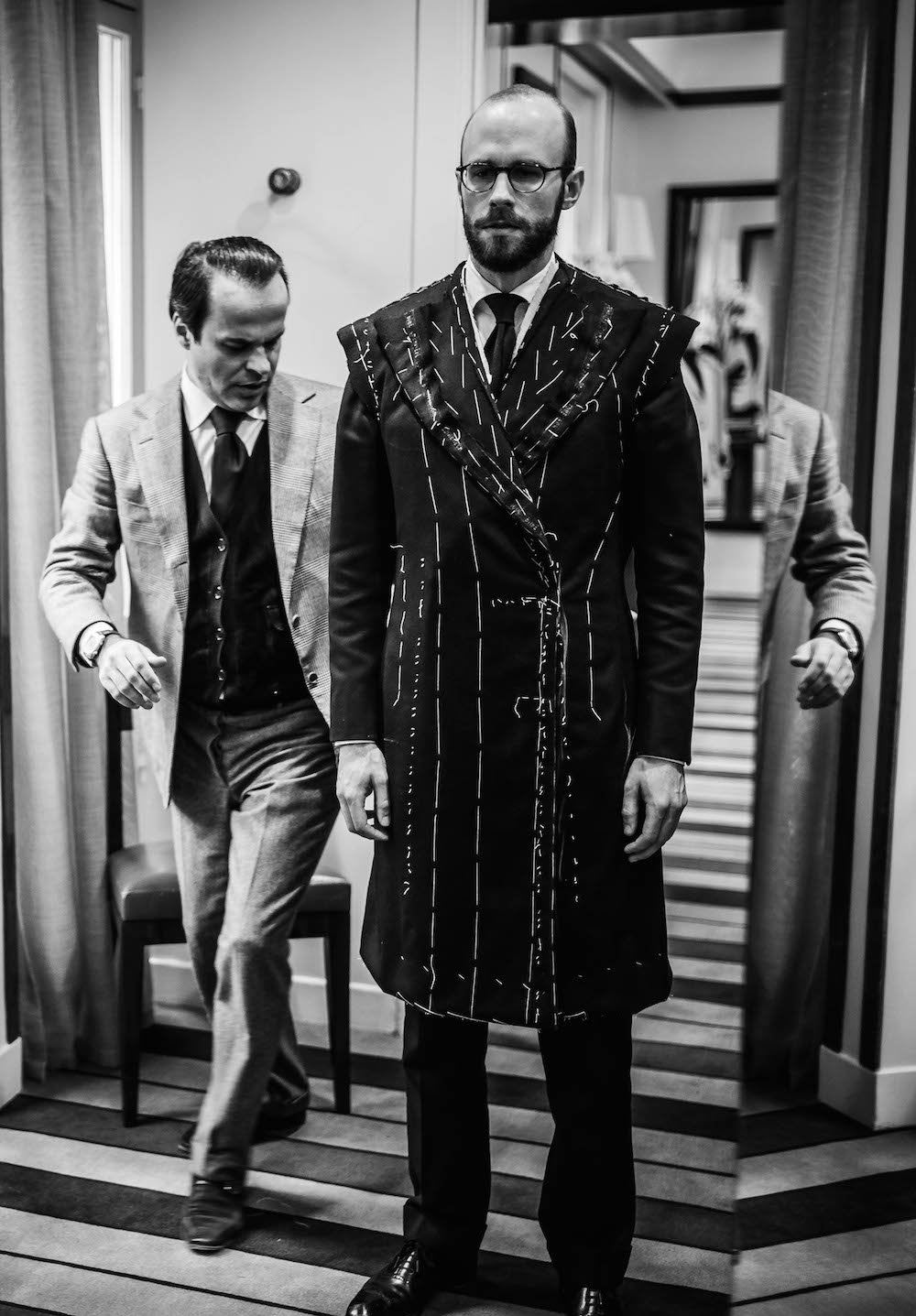 How an overcoat should fit (Cifonelli fitting)