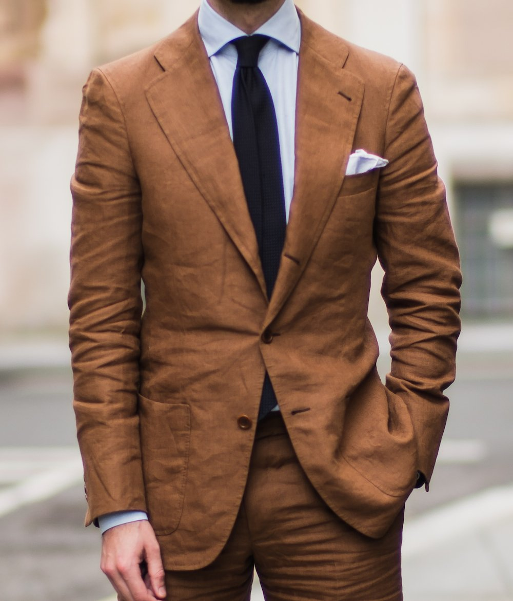 Linen Suit From Langa Madrid