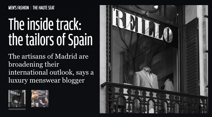 Spanish tailors in How to Spend It