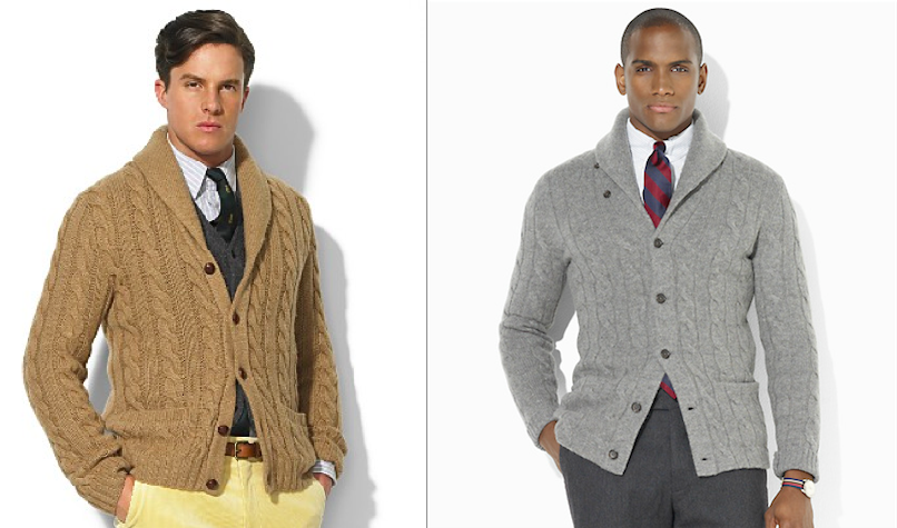 The eternal style of the shawl-collar cardigan – Permanent Style