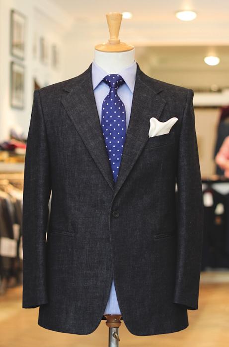 Denim and tailoring