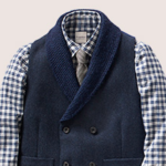 hardy AMies shawl cardigan