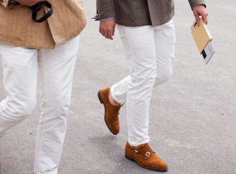 how to wear tan shoes2
