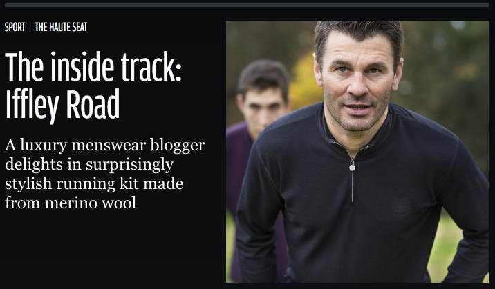Iffley Road pique running kit