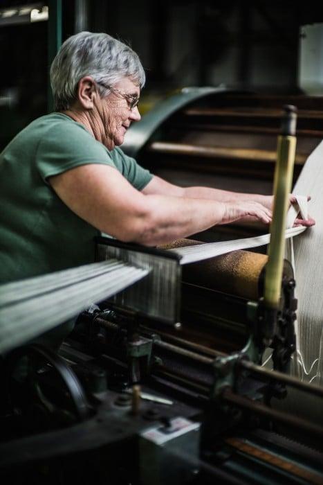 Begg scarf factory Ayr