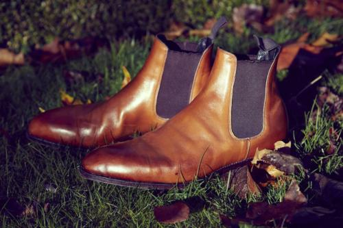 Tim Little bespoke boot chelsea elasticated