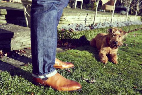 Tim Little bespoke boot chelsea fit