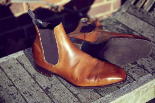Tim Little bespoke boot chelsea sole