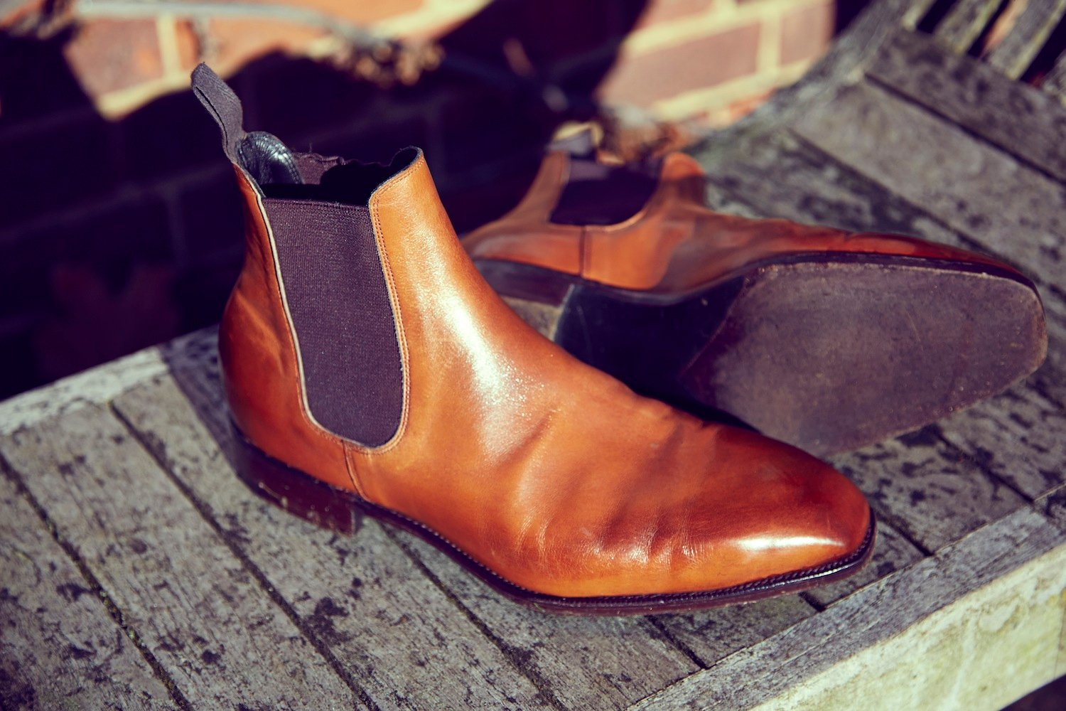 Tim Little bespoke boot chelsea sole