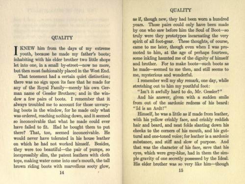 Galsworthy bootmaker copy