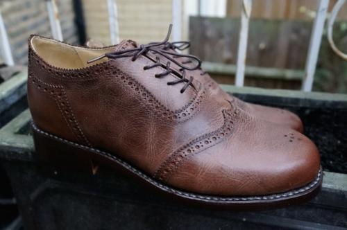 J Adler shoes review close-up