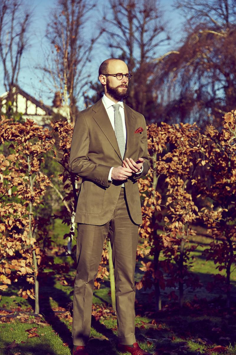 Reillo, Madrid: Bespoke cotton suit