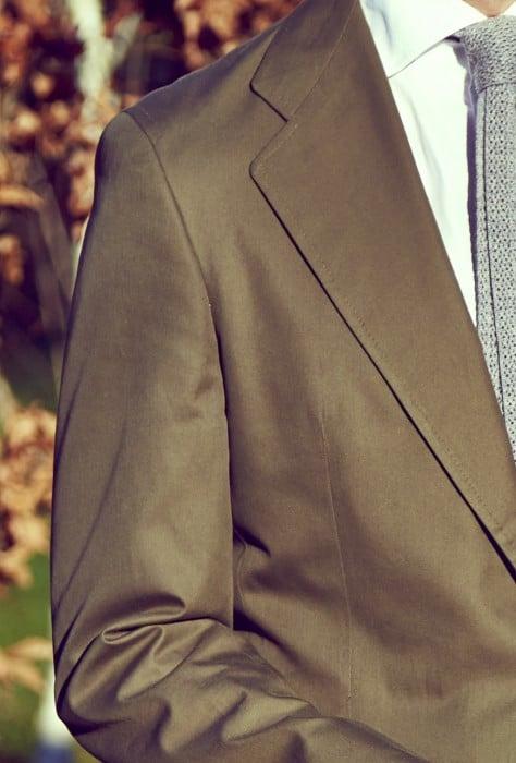 Jose Reillo suit cotton