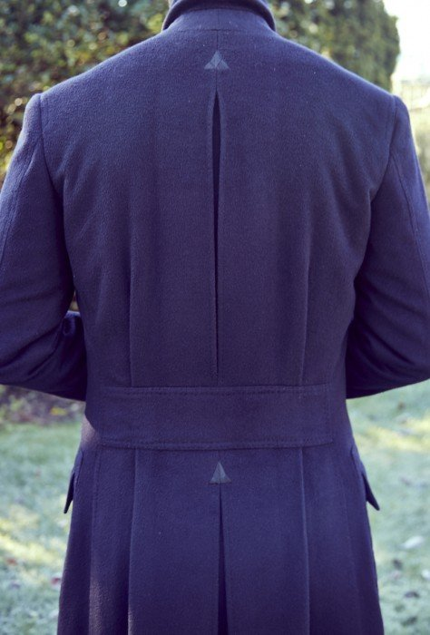 cifonelli overcoat back