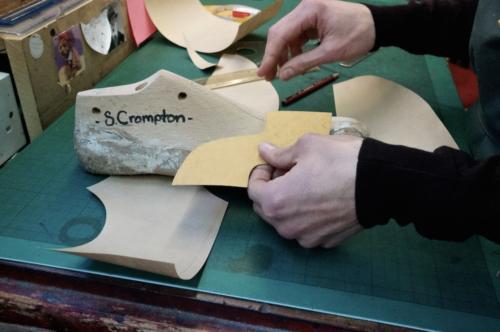 foster and son pattern making bespoke shoe