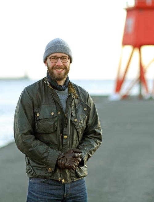 Barbour lighthouse beacon motorcycle jacket